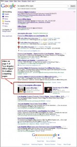 Ranking a video on page 1 of Google